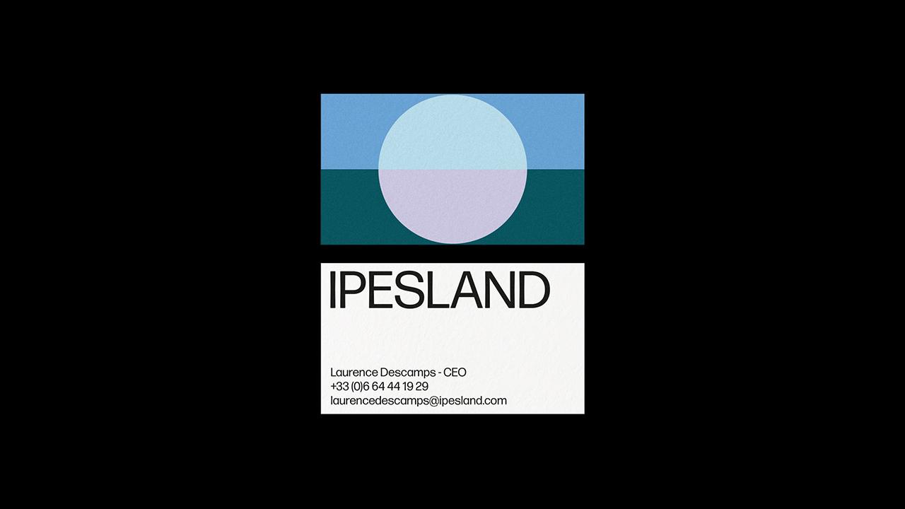 Studio Fire Work, projet Ipesland, cartes de visite