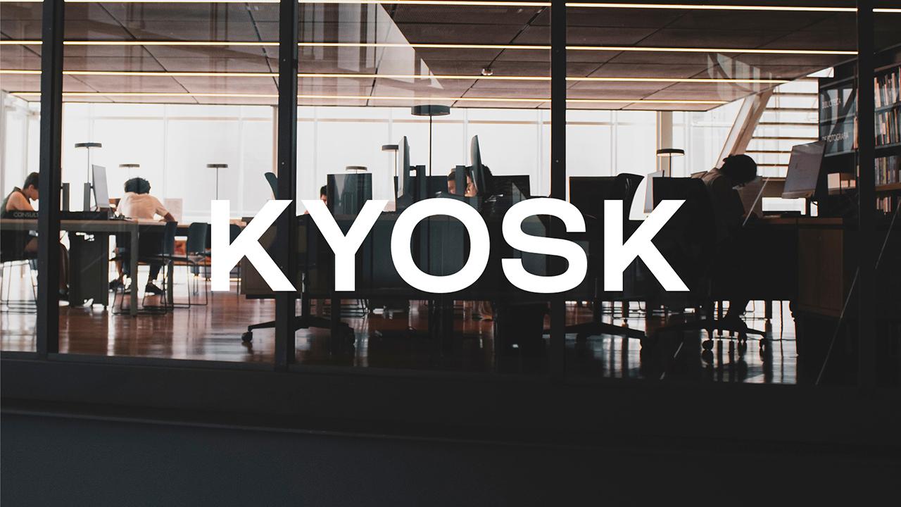 Studio Fire Work, projet Kyosk, logotype